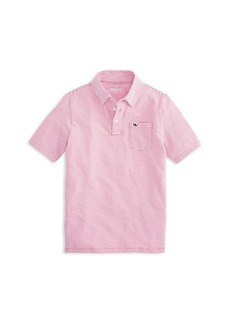 Vineyard Vines Boys' Edgartown Striped Polo Shirt - Little Kid, Big Kid