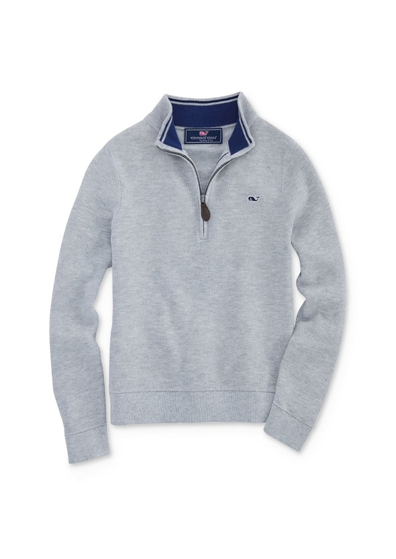 Vineyard Vines Boys' Half-Zip Sweater - Little Kid, Big Kid