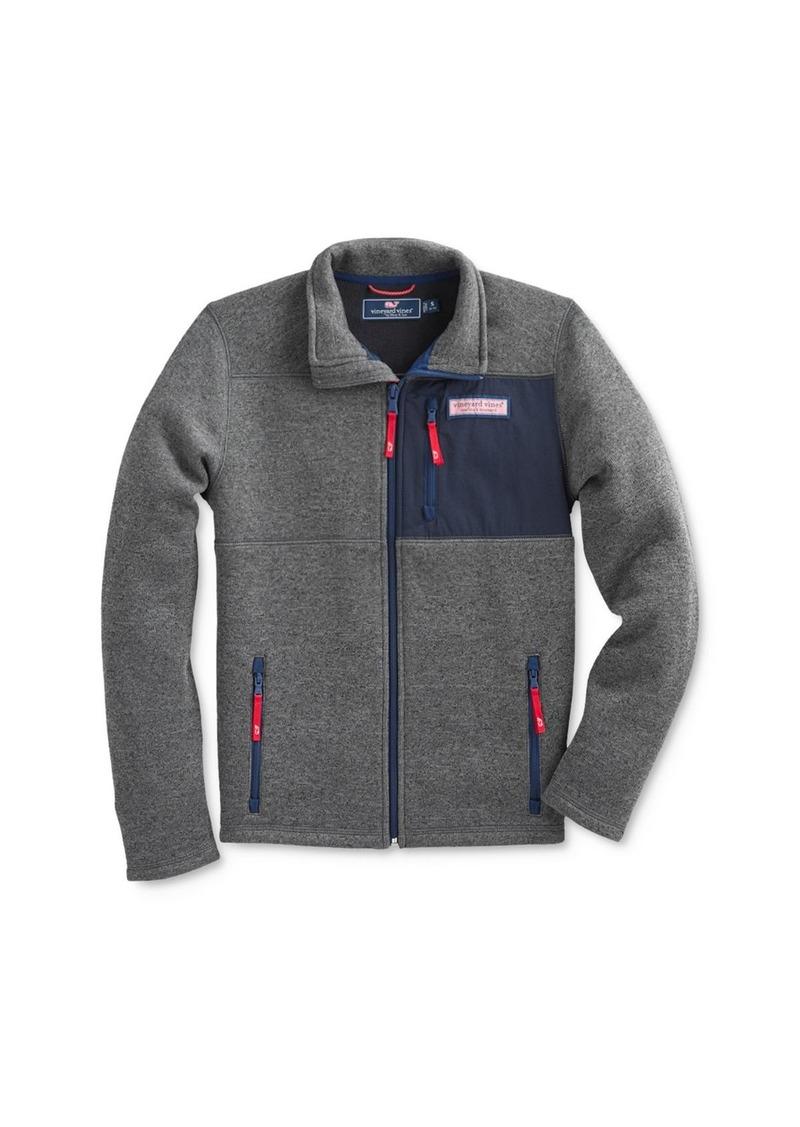 Vineyard Vines Boys' Patchwork Sweatshirt - Little Kid, Big Kid
