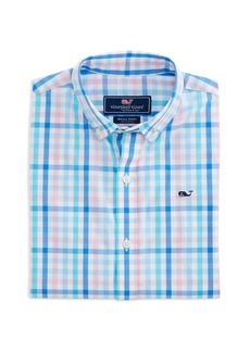 Vineyard Vines Boys' Plaid Sport Shirt - Little Kid, Big Kid