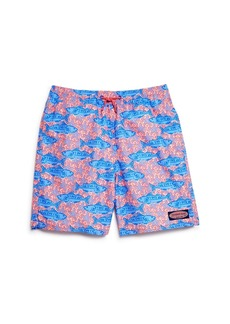 Vineyard Vines Boys' Tuna & Starfish Chappy Swim Trunks - Little Kid, Big Kid