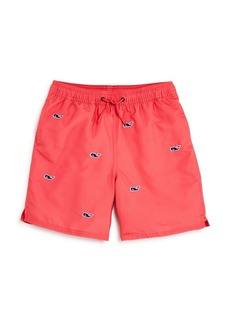 Vineyard Vines Boys' Whale Chappy Swim Trunks - Little Kid, Big Kid