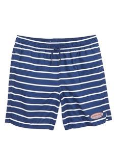 Vineyard Vines Break Stripe Chappy Swim Trunks (Toddler Boys & Little Boys)