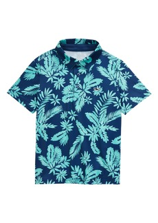 vineyard vines Breakers Floral Print Performance Polo (Big Boy)