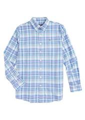 Vineyard Vines Brightwaters Plaid Woven Shirt (Toddler Boys, Little Boys & Big Boys)
