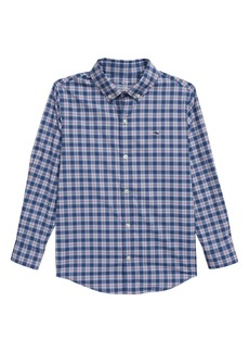 vineyard vines Brookings Perforated Whale Shirt (Toddler Boys & Little Boys)