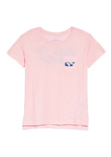 vineyard vines Buoy Whale Pocket Tee (Toddler Girls, Little Girls & Big Girls)