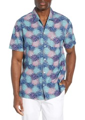 vineyard vines Cabana Regular Fit Floral Chambray Sport Shirt