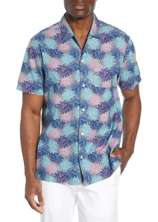 vineyard vines Cabana Regular Fit Floral Chambray Sport Shirt