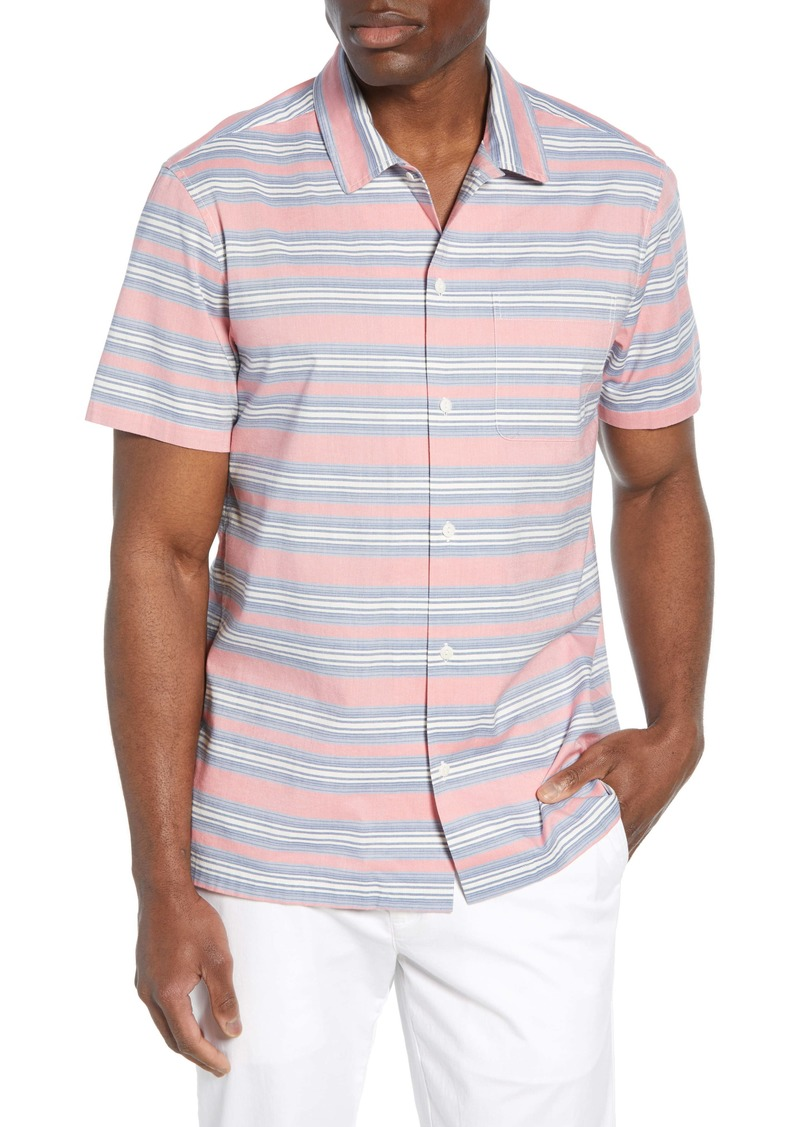 vineyard vines Cabana Regular Fit Stripe Sport Shirt