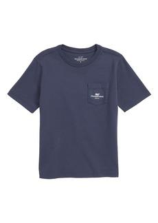 vineyard vines California Whale Pocket T-Shirt (Toddler Boys & Little Boys)