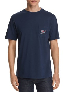 Vineyard Vines Camouflage Utility Vehicle Graphic Pocket Tee