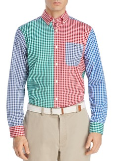 Vineyard Vines Carleton Gingham Party Classic Fit Button-Down Shirt