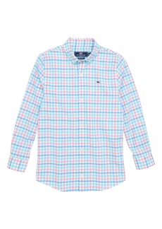 vineyard vines Cattail Check Shirt (Big Boys)