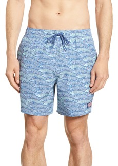 vineyard vines Chappy Fish Traffic Swim Trunks
