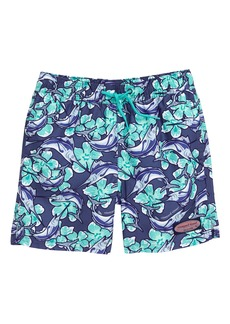 vineyard vines Chappy Marlin Flower Swim Trunks (Big Boys)