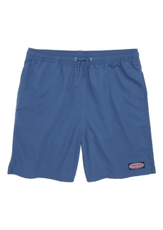 vineyard vines Chappy Patchwork Swim Trunks (Big Boys)