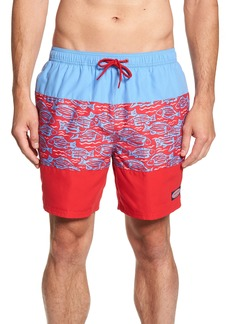 vineyard vines Chappy Pieced Island Swim Trunks