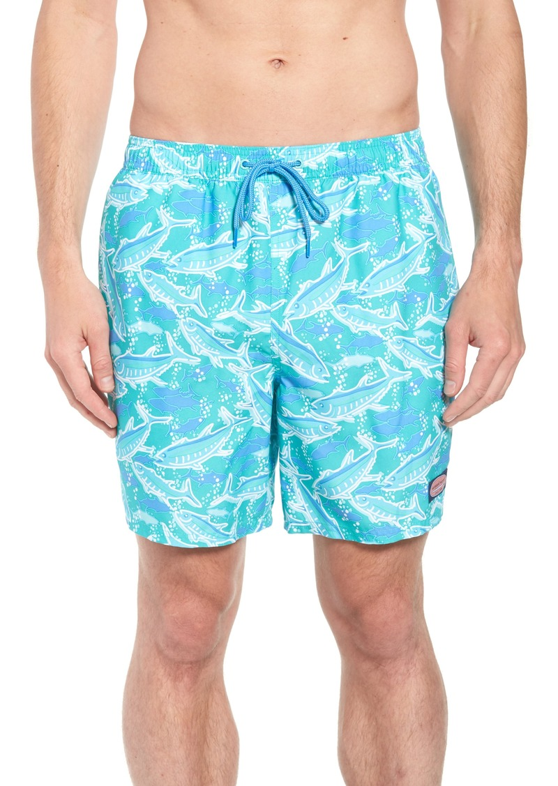 df0a0080df Vineyard Vines vineyard vines Chappy School of Tuna Swim Trunks ...