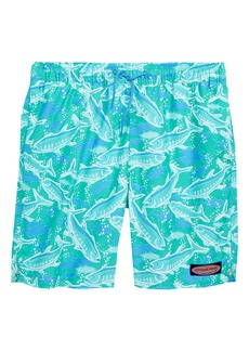 vineyard vines Chappy School of Tuna Swim Trunks (Big Boys)