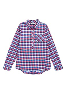 vineyard vines Charleston Plaid Popover Shirt (Little Girls & Big Girls)