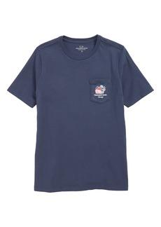 vineyard vines Chicago Whale Graphic Pocket T-Shirt (Big Boy)