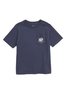 vineyard vines Chicago Whale Pocket T-Shirt (Toddler Boys & Little Boys)