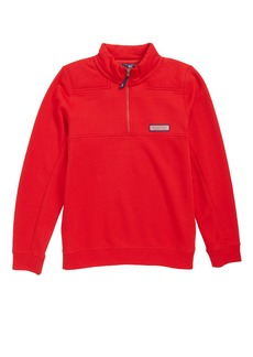 Vineyard Vines Classic Shep Quarter Zip Pullover (Big Boys)