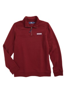 Vineyard Vines Classic Shep Quarter Zip Pullover (Toddler Boys, Little Boys & Big Boys)