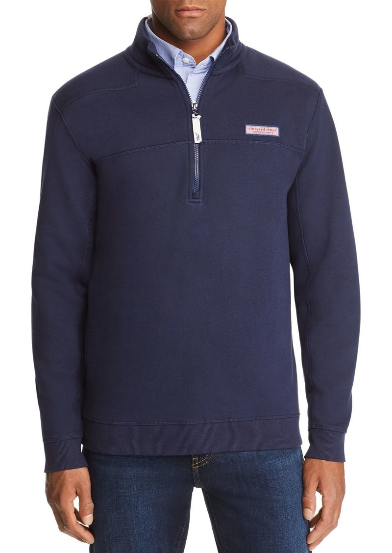 Vineyard Vines Collegiate Shep Quarter-Zip Sweatshirt