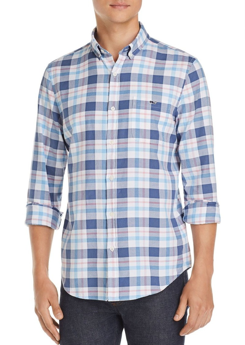 Vineyard Vines Colony Bay Plaid Slim Fit Button-Down Shirt