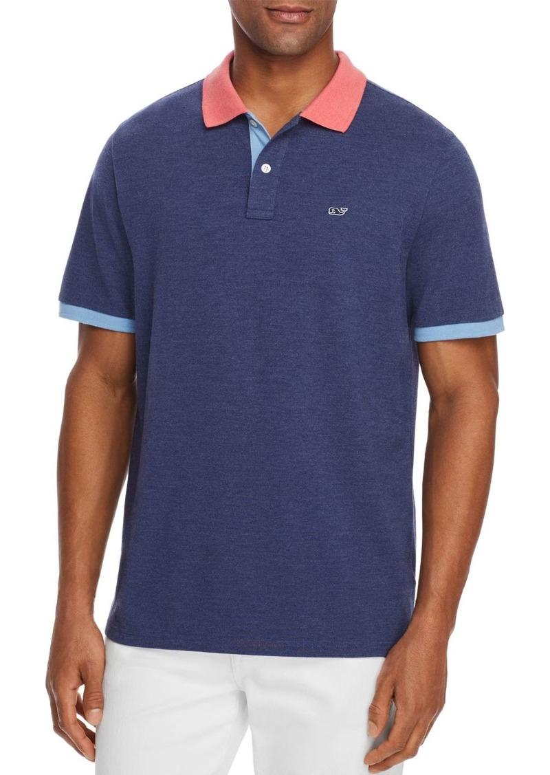 Vineyard Vines Color-Block Piqu� Regular Fit Polo Shirt