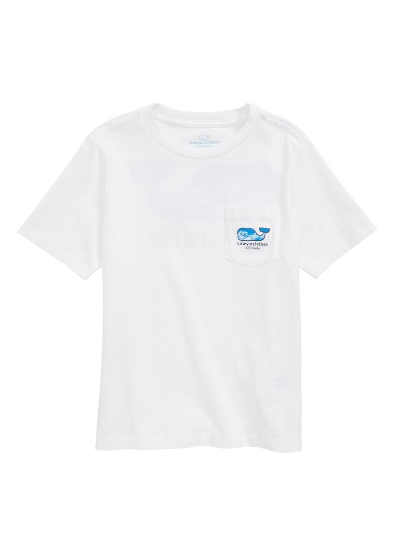 vineyard vines Colorado Whale Pocket T-Shirt (Big Boys)