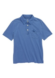 vineyard vines Cotton Polo (Big Boys)
