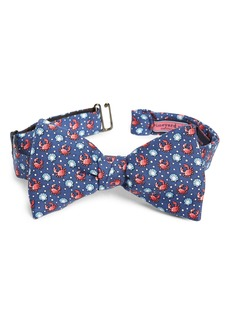 Vineyard Vines Crab & Scallop Shell Silk Bow Tie