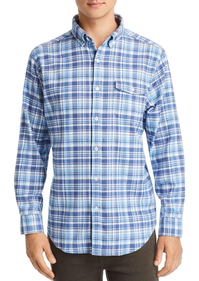 Vineyard Vines Crosby Mill Hill Flannel Classic Fit Shirt