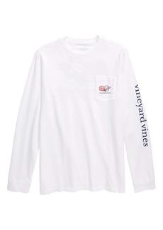 vineyard vines Cupid Whale Pocket T-Shirt (Big Boys)