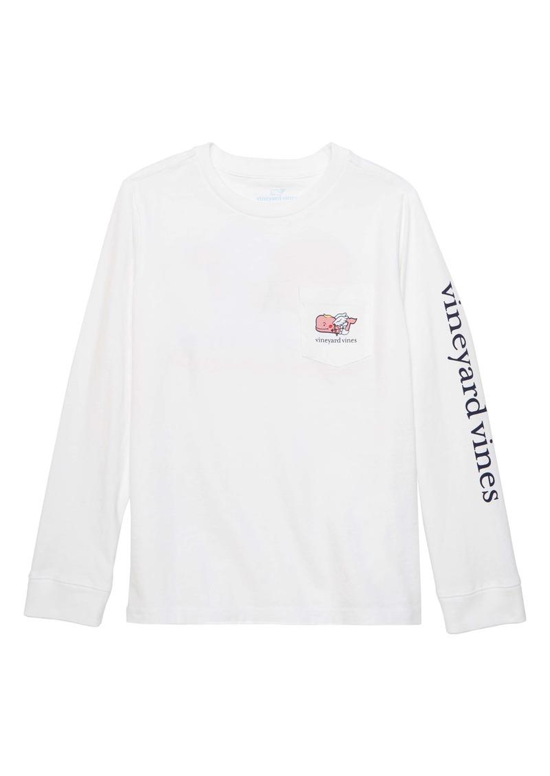 vineyard vines Cupid Whale Pocket T-Shirt (Toddler Boys & Little Boys)