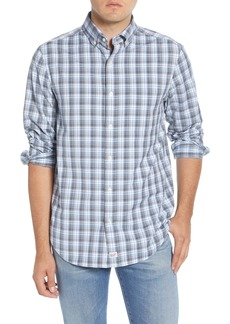 vineyard vines Darvo Slim Fit Plaid Performance Button-Down Shirt