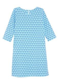 vineyard vines Diamond Whale Tale Shift Dress (Toddler Girls)