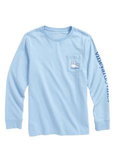 vineyard vines Easter Bunny Whale Pocket T-Shirt (Big Boys)