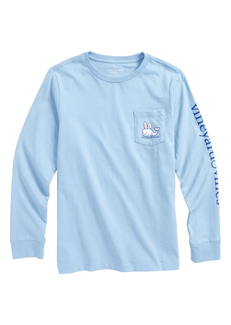 68fd29faa Vineyard Vines vineyard vines Easter Bunny Whale Pocket T-Shirt (Big ...
