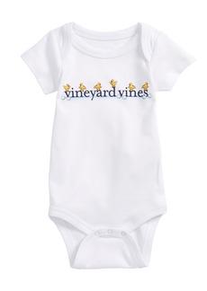 vineyard vines Easter Chick Pima Cotton Bodysuit (Baby)