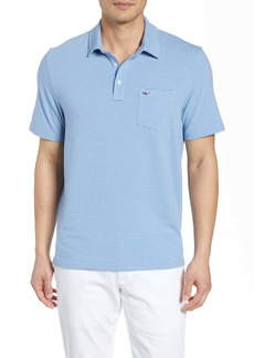 vineyard vines Edgartown Pinstripe Pocket Polo