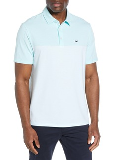 vineyard vines Edgartown Regular Fit Stripe Short Sleeve Performance Polo