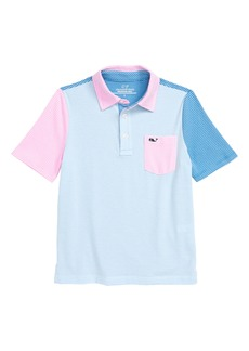 vineyard vines Edgartown Stripe Party Polo (Big Boys)