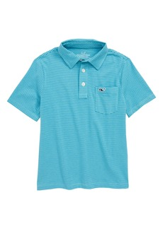 Vineyard Vines Edgartown Stripe Polo (Big Boys)