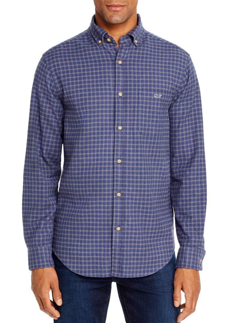 Vineyard Vines Faroe Flannel Classic Fit Button-Down Shirt