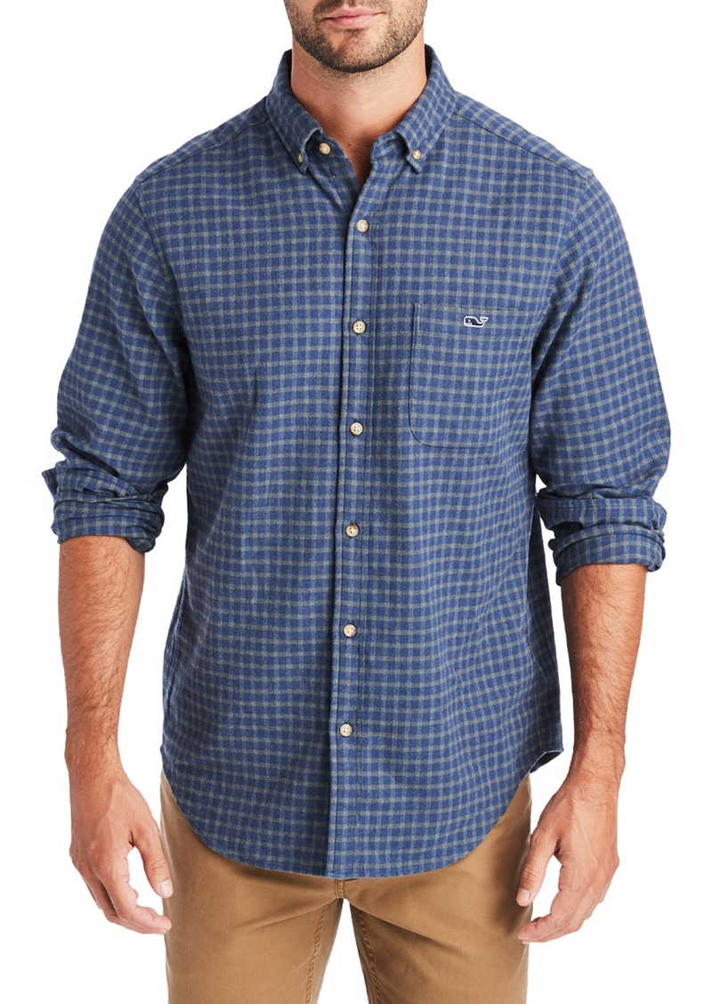 vineyard vines Faroe Tucker Classic Fit Button-Up Shirt