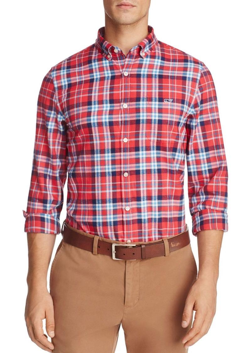 Vineyard Vines Finback Plaid Long Sleeve Button-Down Shirt